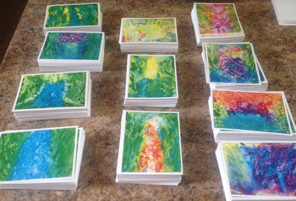 The Garden Collection 4x6 Prayer Poetry Card Set