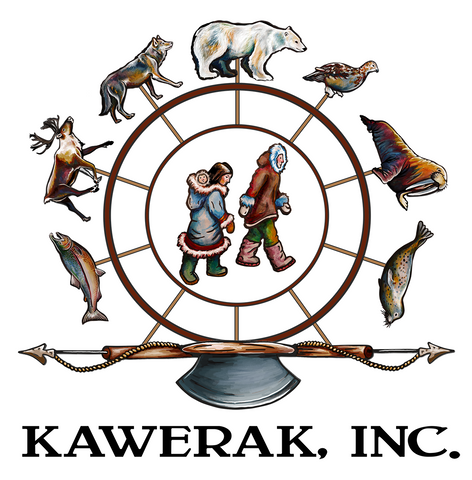 Sarah K. Glaser Kawerak Color Logo