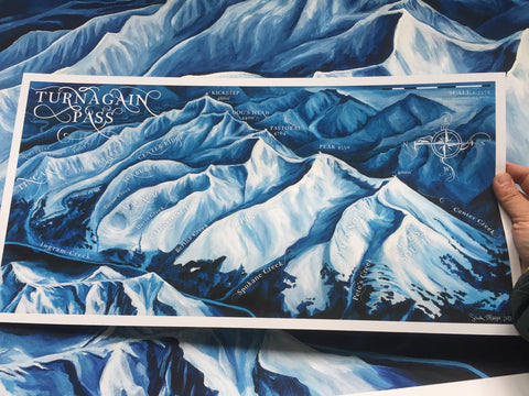 Turnagain Pass Map