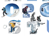 Backcountry Skiing Alphabet Sarah K Glaser Glacierlines