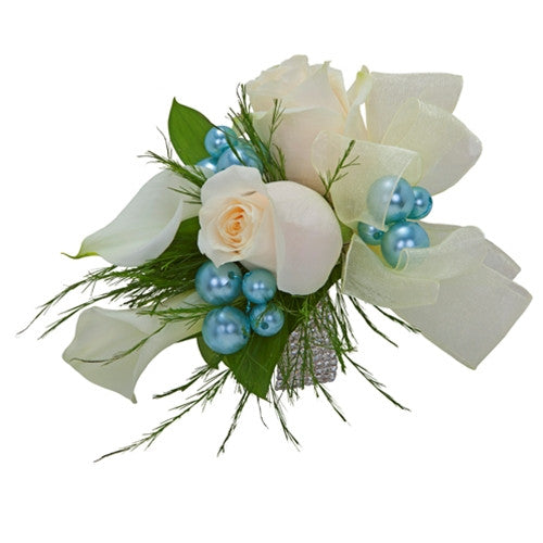 Rose and Calla Lily corsage