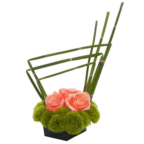 Venetian Rose Centerpiece