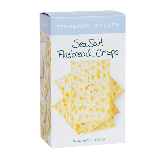 Stonewall sea salt flat bread crisps