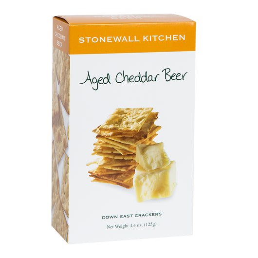 Stonewall Aged Cheddar beer crackers