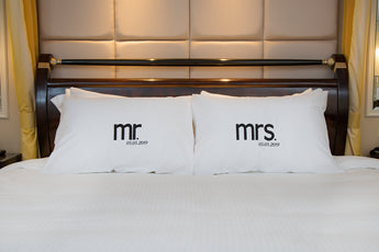 Newlywed Pillow Case