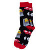 "Men's ""Casino""Socks"
