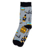 "Men's ""Whiskey & cigars ""Socks"