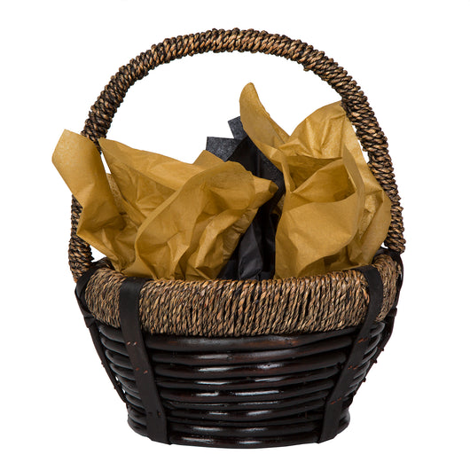 Wooden Rope Basket - Small