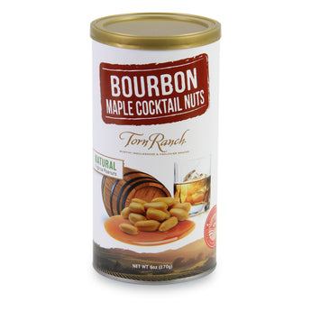 Bourbon Maple Cocktail Nuts