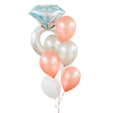 Engagement Ring Balloon Bouquet