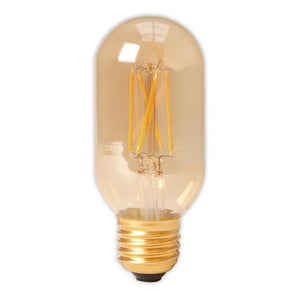 Calex LED Tubular E27 fitting - Gold-tinted 320Lm