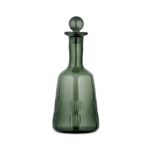 Dark Emerald Decanter