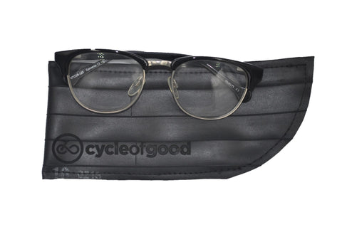 Recycled Inner Tube Glasses Case