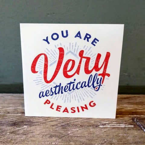 You are Very Card
