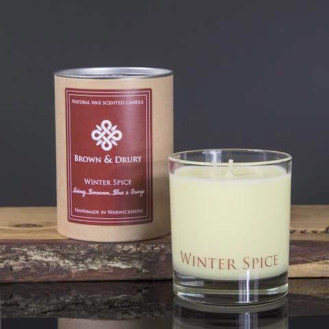 Winter Spice - Festive Aromatic Candle