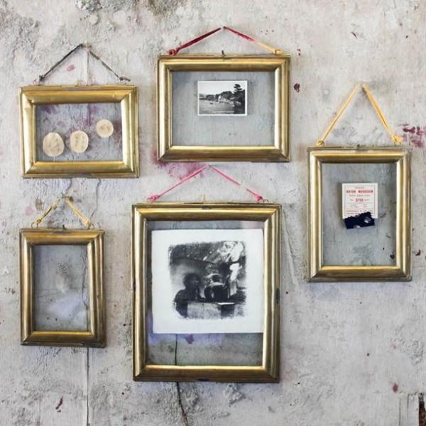 Antique Brass frames