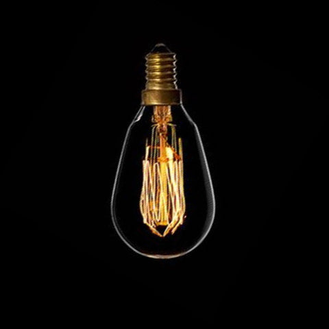 Bulbs - E14 40w Traditional Filament Mini Squirrel Cage Bulb