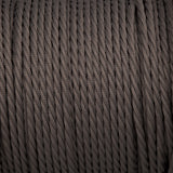 Twisted lighting cable - Dusk grey fabric