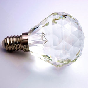 LED crystal bulb - E14 Dimmable Ball Shape
