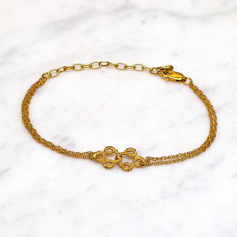 Entwined Bracelet Gold