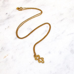 Entwined Necklace Gold