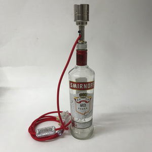Smirnoff Bottle Lamp