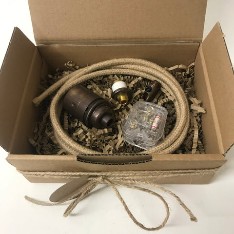 Antique Bottle Lamp Kit