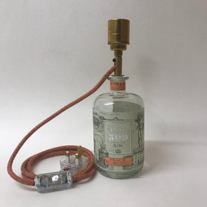 Buss 509 Peach Gin Bottle Lamp