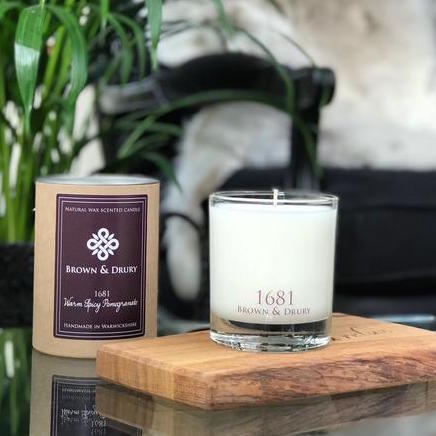 Spiced Pomegranate 1681 Candle