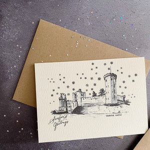 Warwickshire Festive Cards - Pack of 5