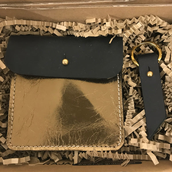 Gift Box - Coin Purse & Key Ring set