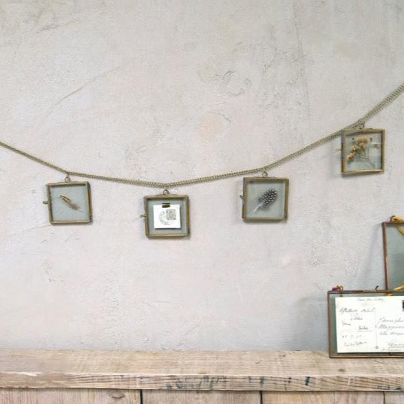 Mini Brass Frame Garland