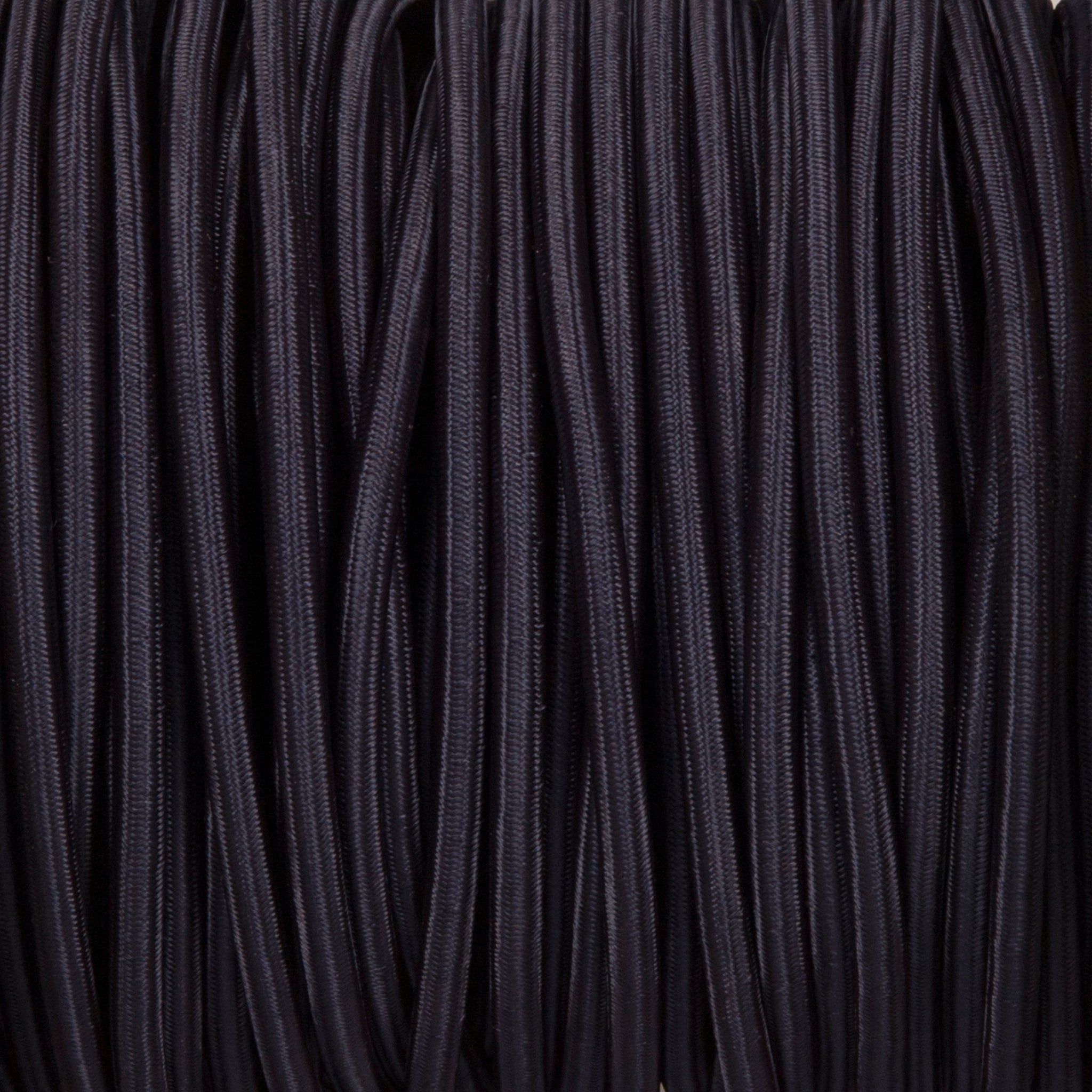 Round lighting cable - Navy Blue braided fabric