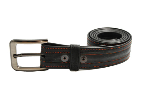 "Recycled Inner Tube Belt - 34"" waist"