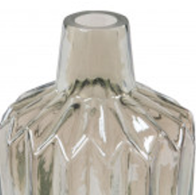 Iridescent glass vases assorted shapes & sizes