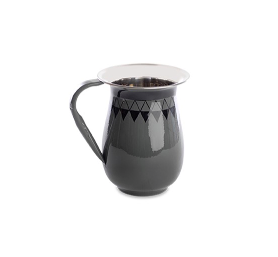 Slate Hand Painted Jug