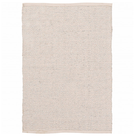 Hand Woven Cotton Rug with Lurex