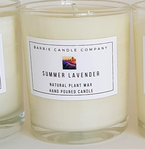 Summer Lavender Scented Candle
