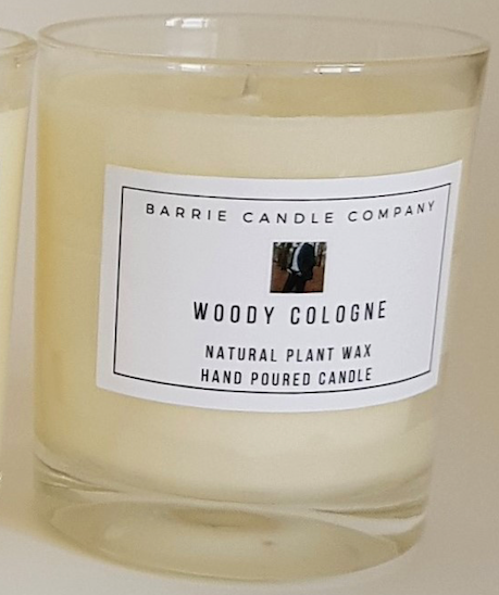 Woody Cologne Scented Candle