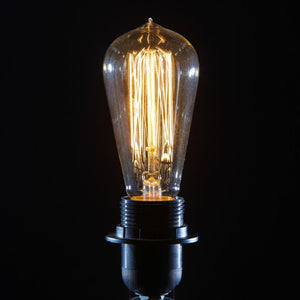 Bulbs - Traditional Filament William Francis B22 Teardrop