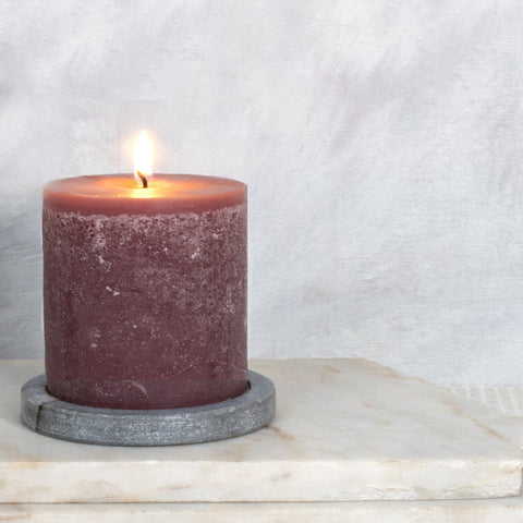 Short Scented Pillar Candles