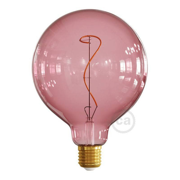 Berry red light bulb, vine filament, 4W E27 Dimmable