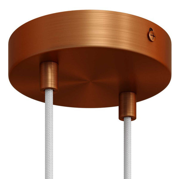 Ceiling Rose Kit - Brushed Copper