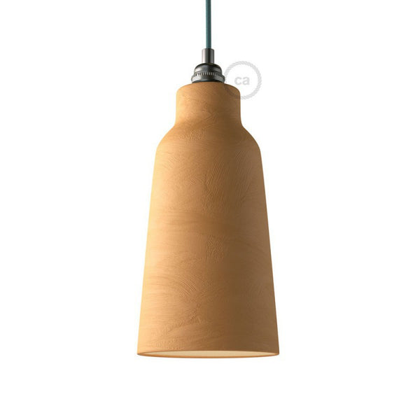 Washed Sand Bottle Shaped Ceramic Lampshade