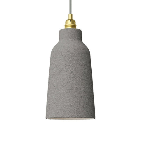 Concrete Bottle Shaped Ceramic Lampshade