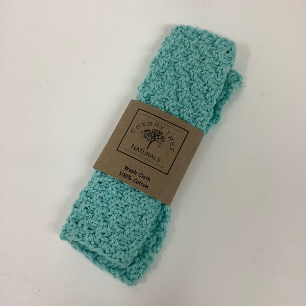 Organic Cotton Wash Cloth