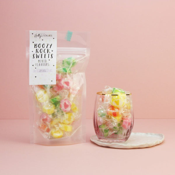 Boozy Rock Sweets Mixed Flavours