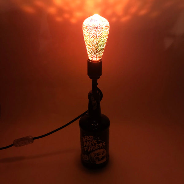 Dead Mans Fingers Rum Bottle Lamp