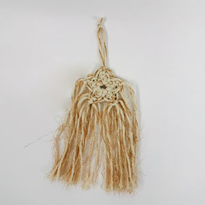 Mini Macrame Star Wall hanging
