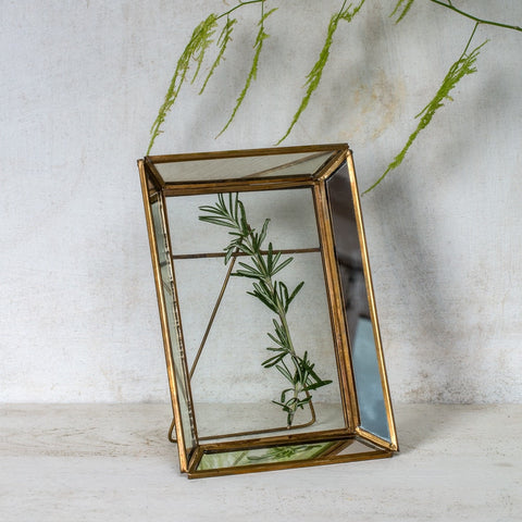 Medium Fairtrade Mirrored frames